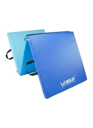 Liveup Ls3254 Katlanabilir Egzersiz Minderi Mavi